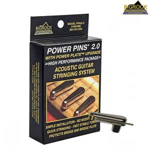파워 브릿지핀 Power Pins 2.0 - Chrome Set (PPAGA10C)